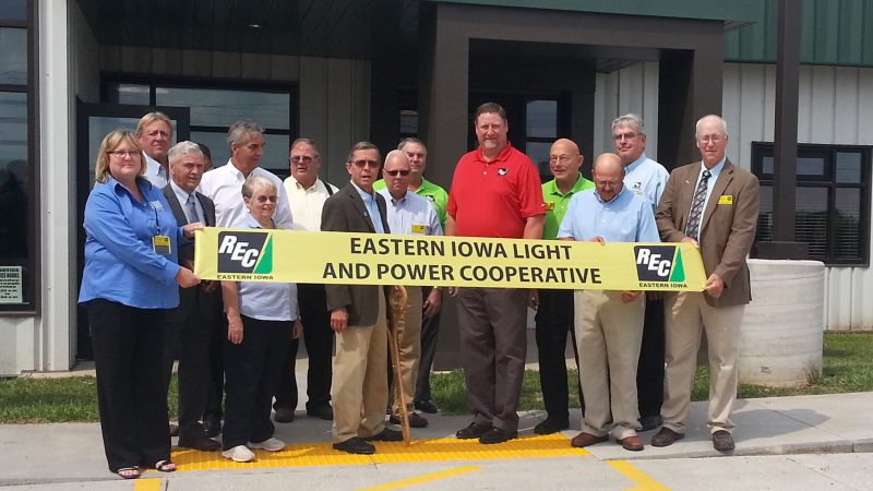 Eastern Iowa Light and Power New Headquarters Open House