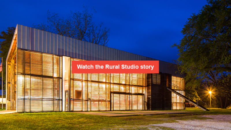 Rural Studio used design to transform the lives of the residents of Newbern, Alabama.