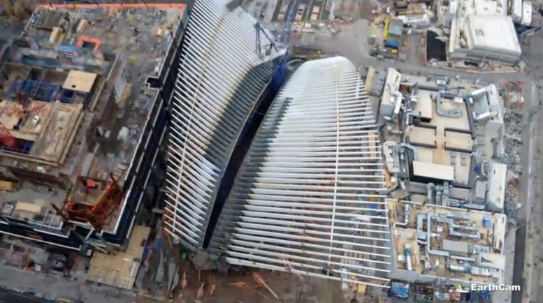Watch Time-Lapse of World Trade Center Transportation Hub's Construction